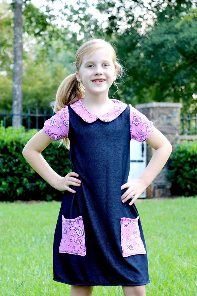 Valedictorian Dress Pattern Wacky - Ellie and Mac, Digital (PDF) Sewing Patterns | USA, Canada, UK, Australia