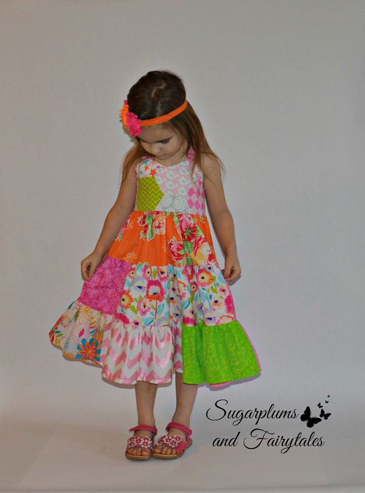 Girls Zoey Twirl Dress Pattern