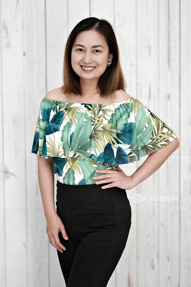 Women's Be The Leader Top Pattern
