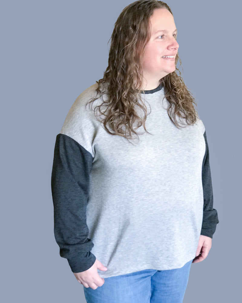 Adult Oversized Tee Pattern