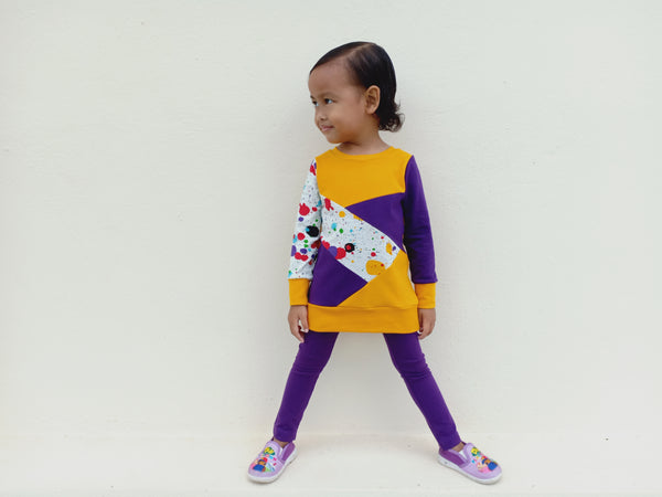 Kids Sew Scrappy Top Pattern