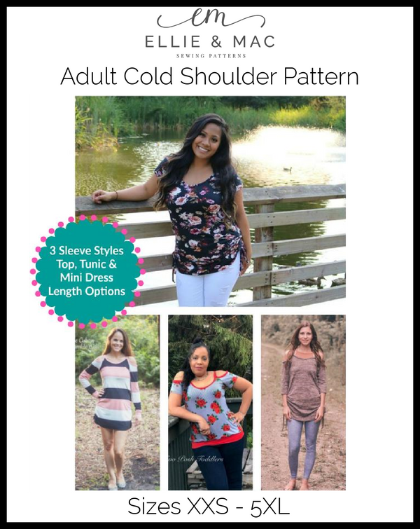 Cold Shoulder Pattern (adult) Wacky