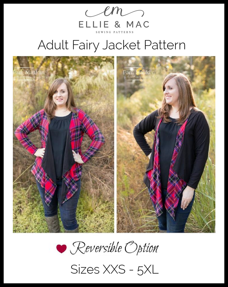 Fairy Jacket Pattern (adult's)