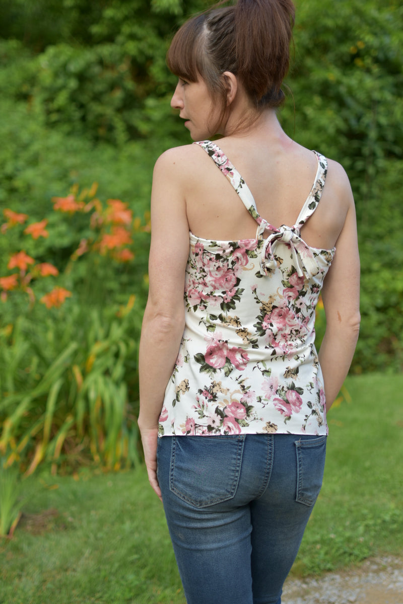Floral Dreams Tank Top Pattern
