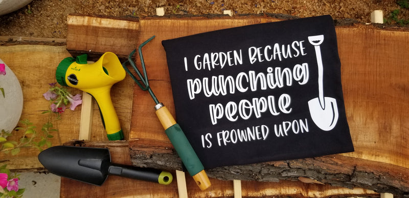 I Garden because Punching People is Frowned Upon Cut File