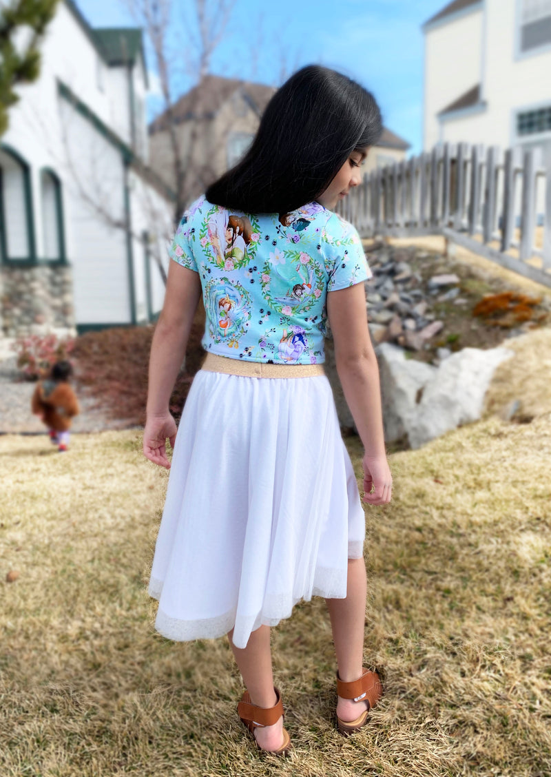 Lucky Clover Top and Skirt Pattern
