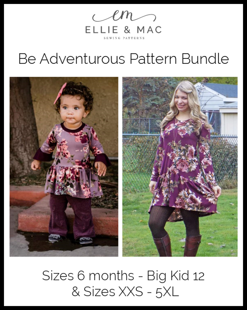Be Adventurous Pattern Bundle