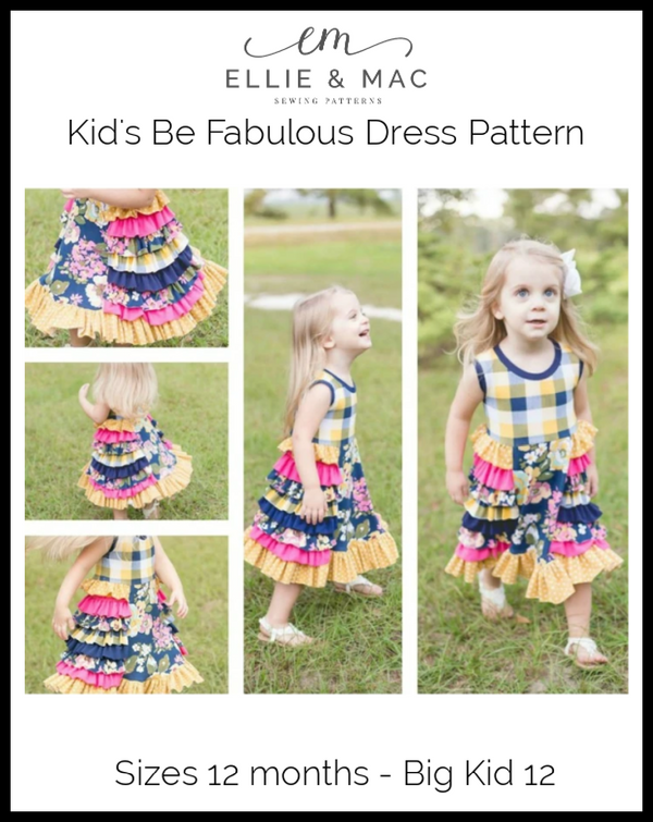 Be Fabulous Dress Pattern
