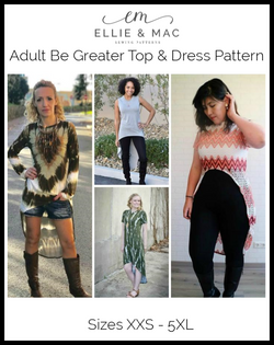 Be Greater Top & Dress Pattern (adult)