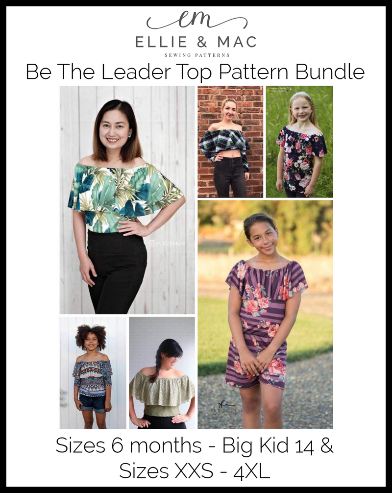 Be The Leader Top Pattern Bundle
