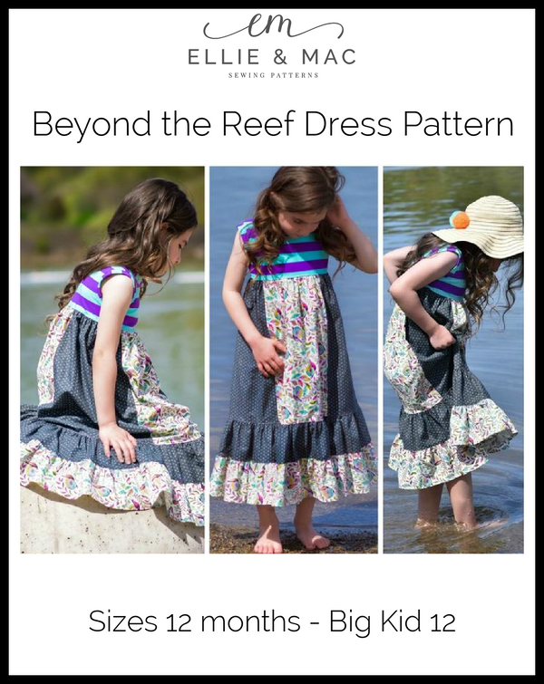 Beyond The Reef Dress Pattern