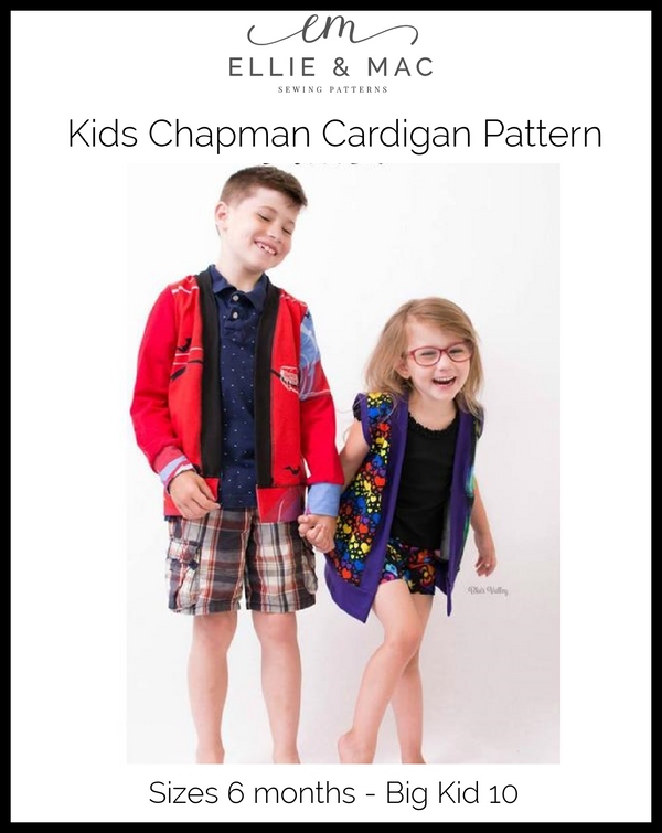 Kids Chapman Cardigan Pattern