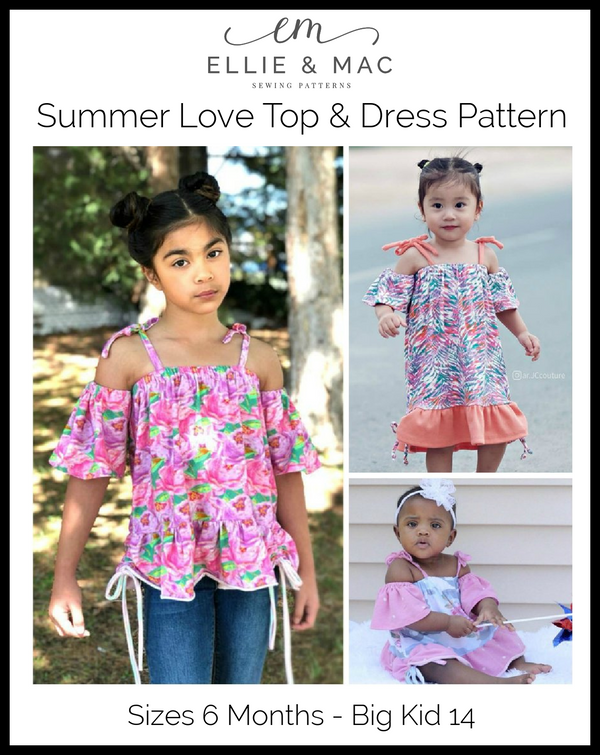 Summer Love Top & Dress Pattern Wacky