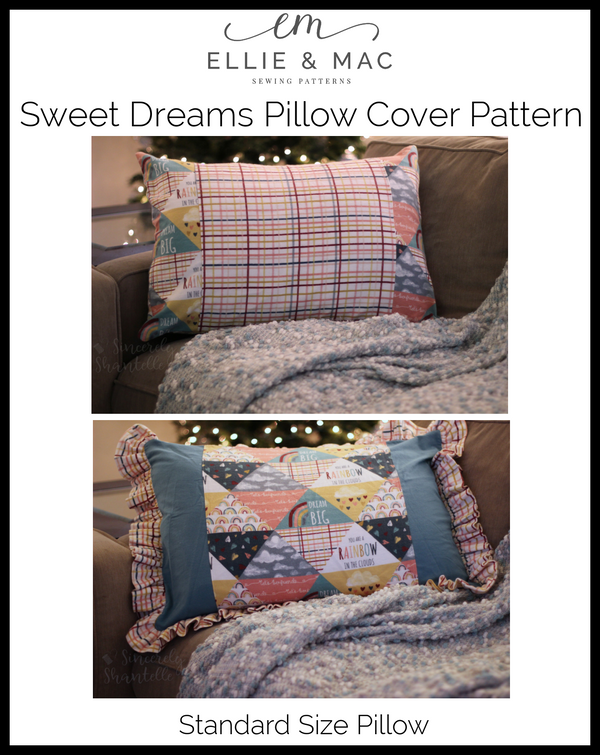 Sweet Dreams Pillow Cover Pattern