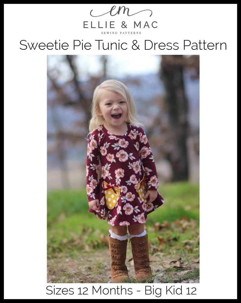 Kids Sweetie Pie Tunic & Dress Pattern