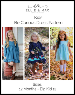 Be Curious Dress Pattern