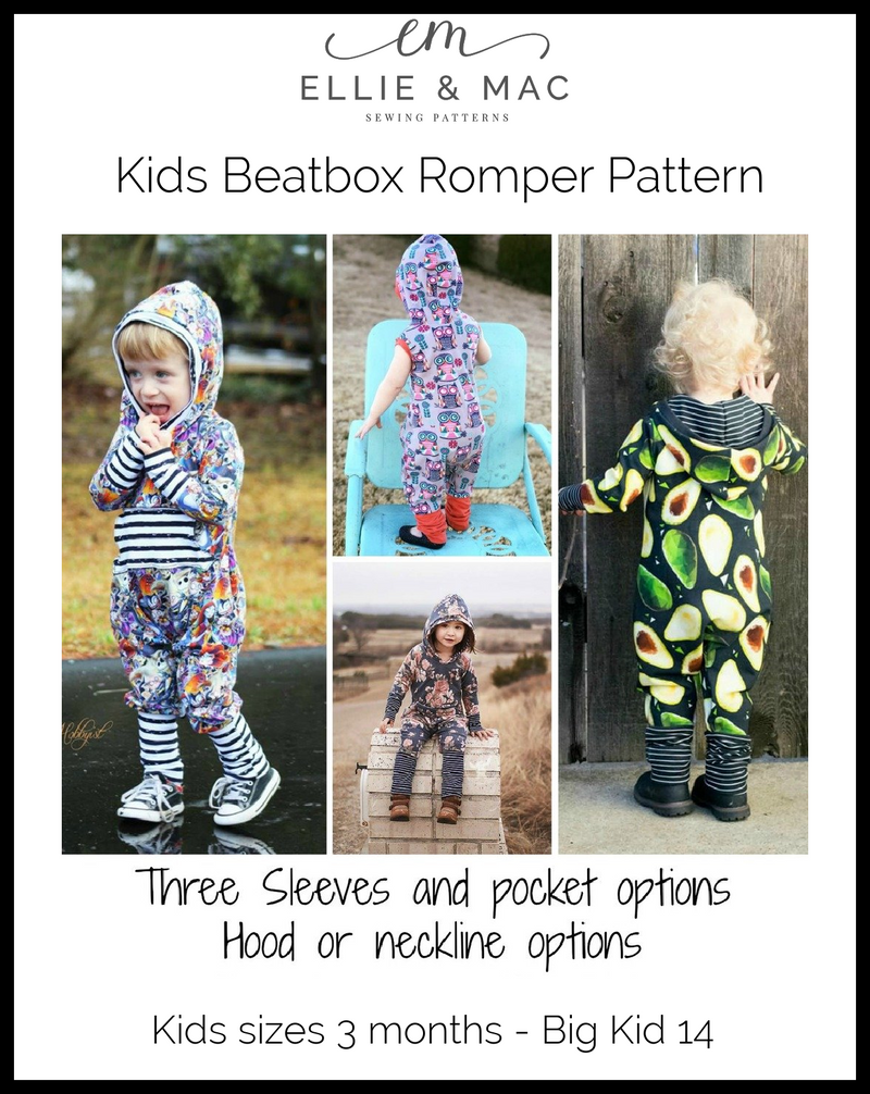 Beatbox Romper Pattern