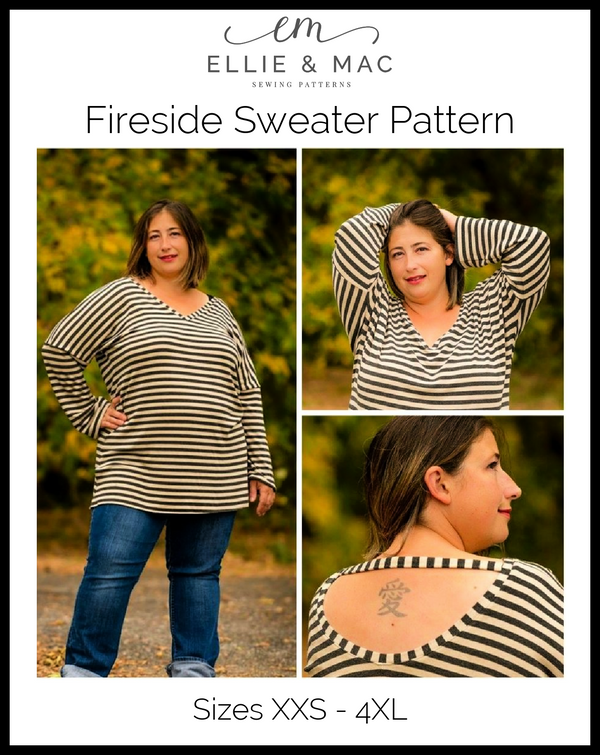 Fireside Top Pattern