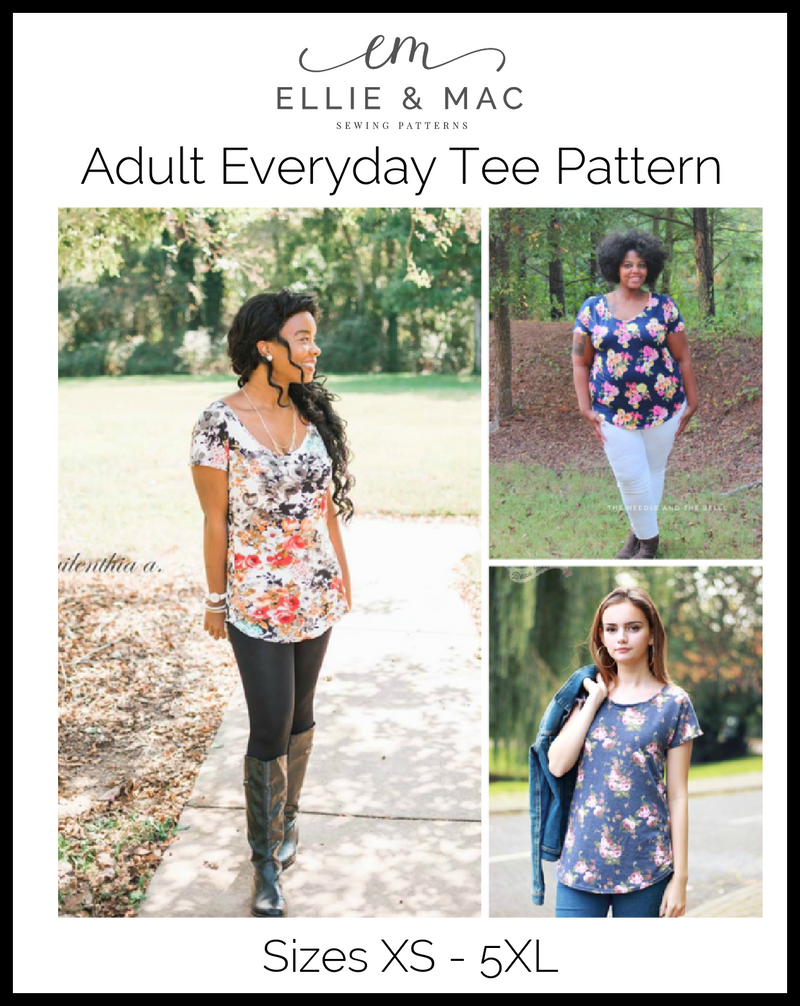 Everyday Tee Pattern