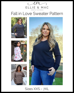 Fall In Love Sweater Pattern (Updated)