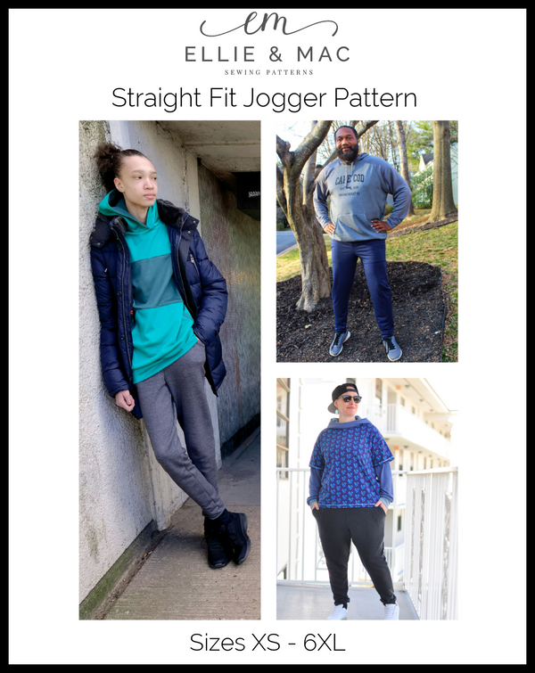 Straight Fit Jogger Pattern