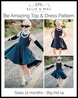 Kids Be Amazing Top & Dress Pattern