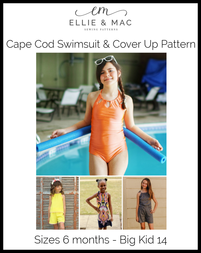 Cape Cod Swimsuit & Cover Up Mix & Match Pattern