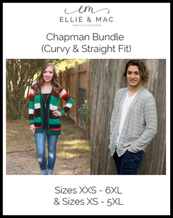 Chapman Cardigan Pattern Bundle (Curvy & Straight Fit)