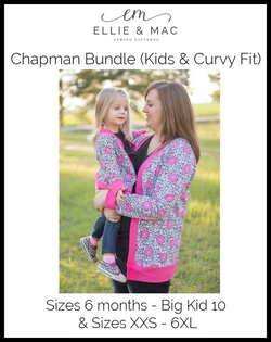 Chapman Cardigan Child & Adult Pattern Bundle Pack