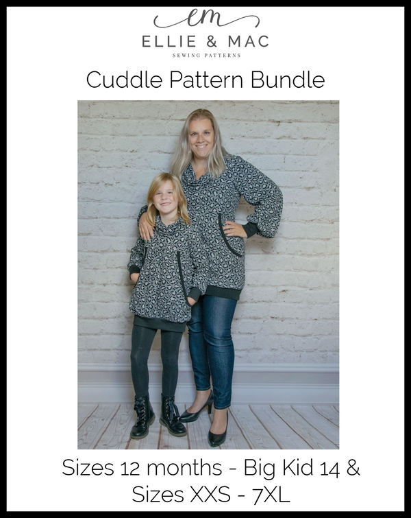 Adult & Kid's Cuddle Pattern Bundle