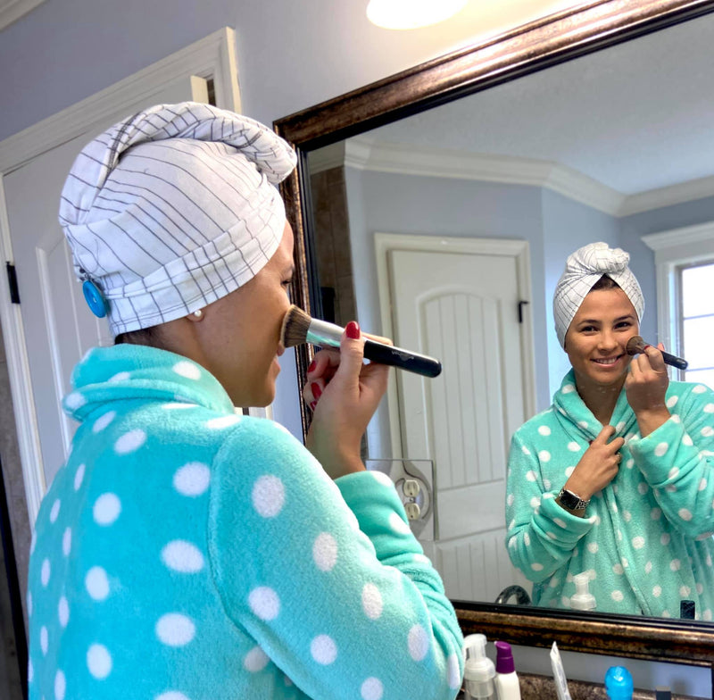 Sleep Shower Cap & Hair Wrap Pattern