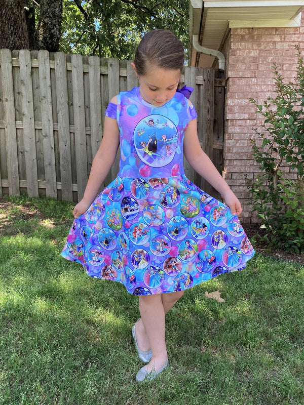 Kids Breezy Dress Pattern