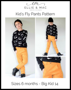 Fly Pants Pattern