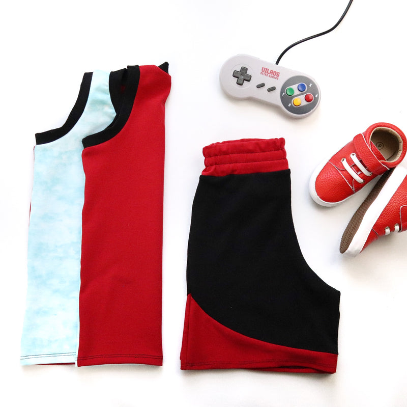 Kids Gamer Pattern Capsule