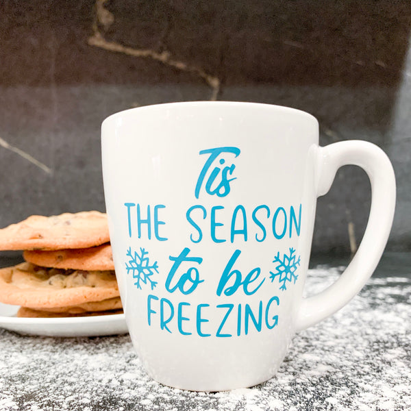 Tis the Season to be Freezing Cut File