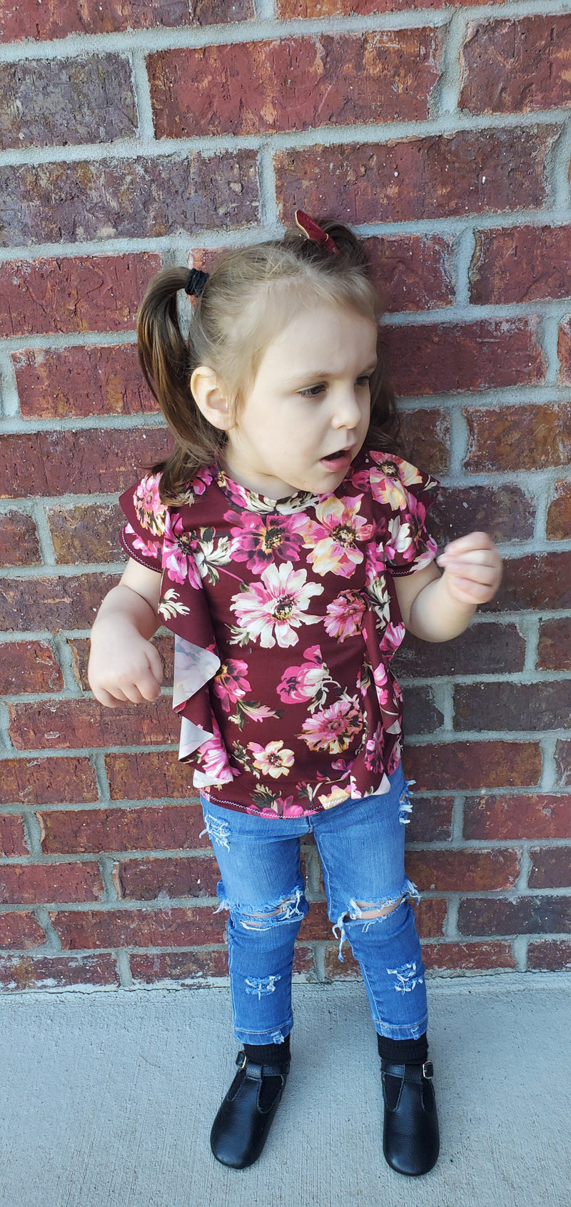 Kid's Forever Flounce Top Pattern