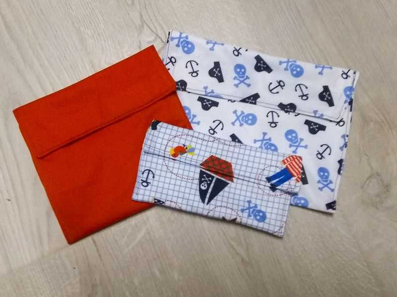 Reusable Snack Bag Pattern