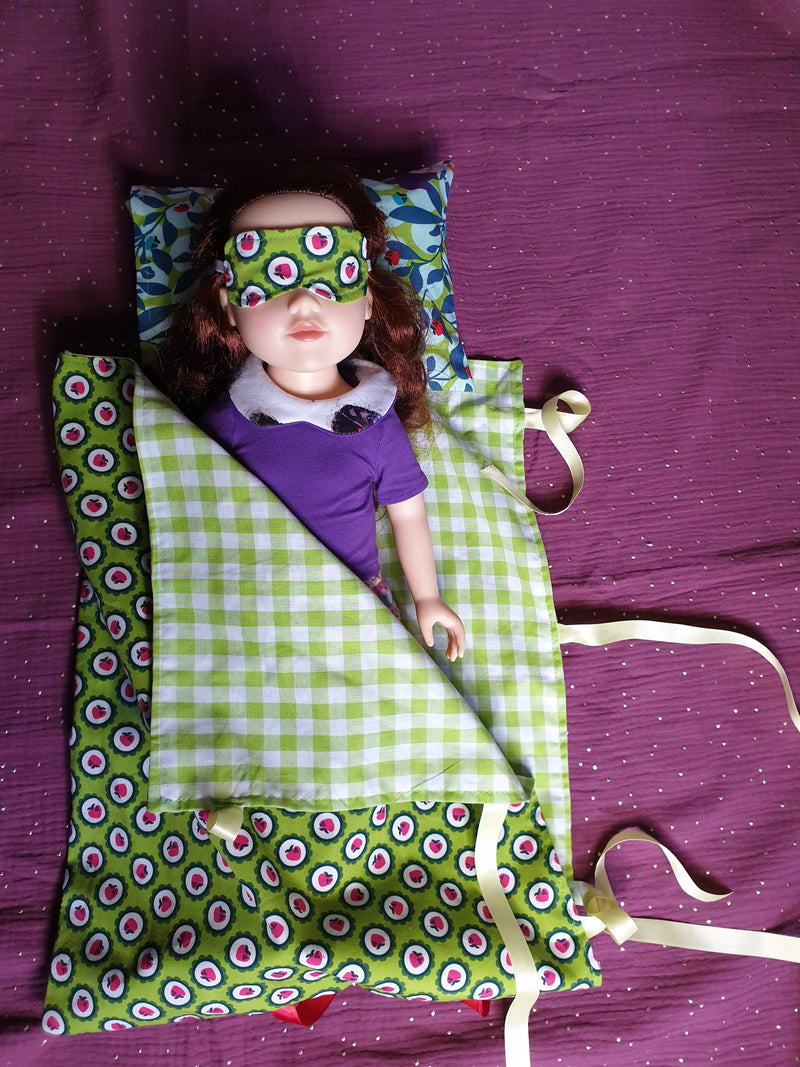Slumber Party Doll Pattern