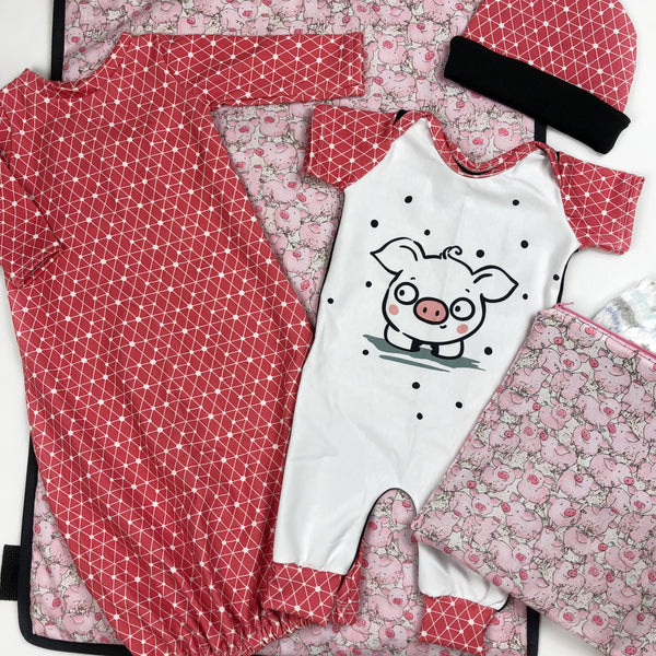 Baby Shower Sewing Pattern Capsule