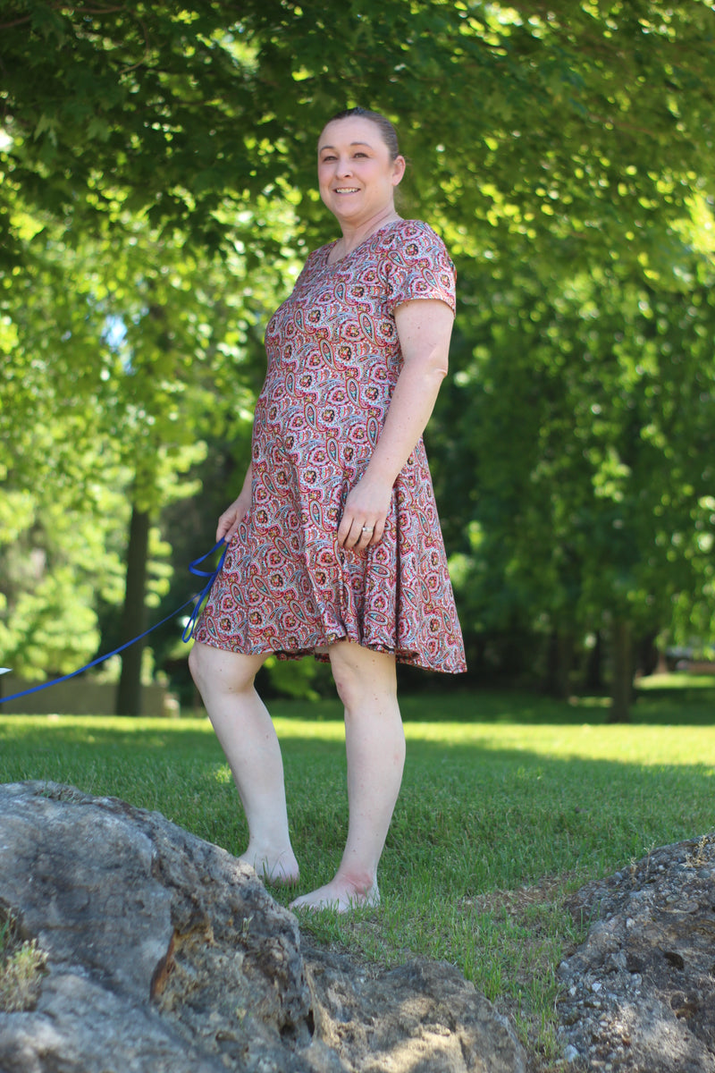 Slow Sunday Top & Dress Pattern