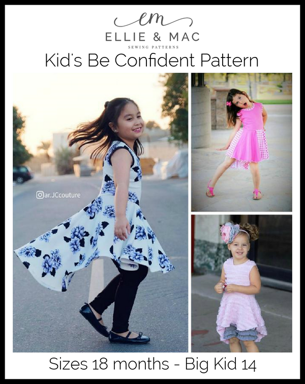 Kids Be Confident Tunic Pattern