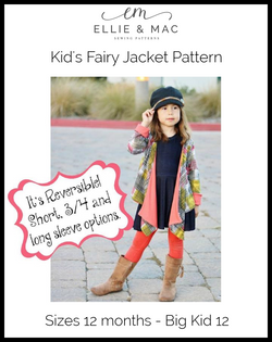 Kids Fairy Jacket Pattern