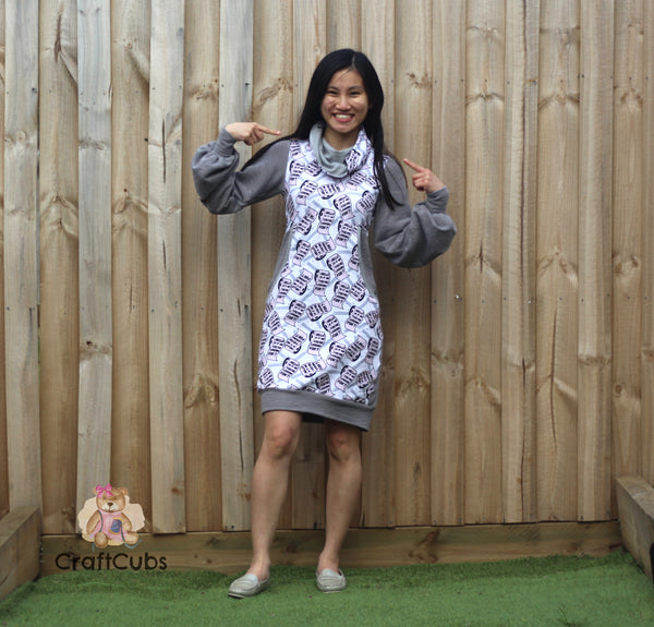 Adult Cuddle Tunic & Dress Pattern