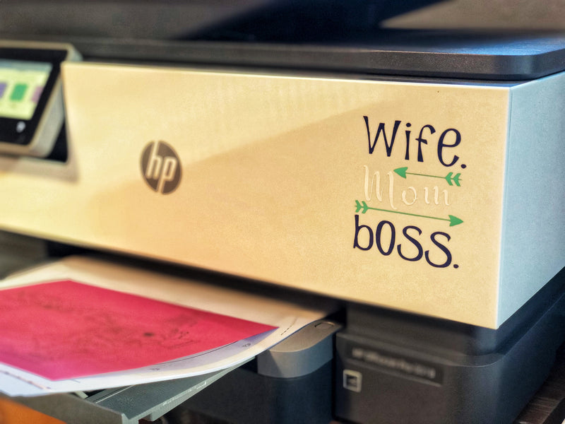 Wife Mom Boss Cut File