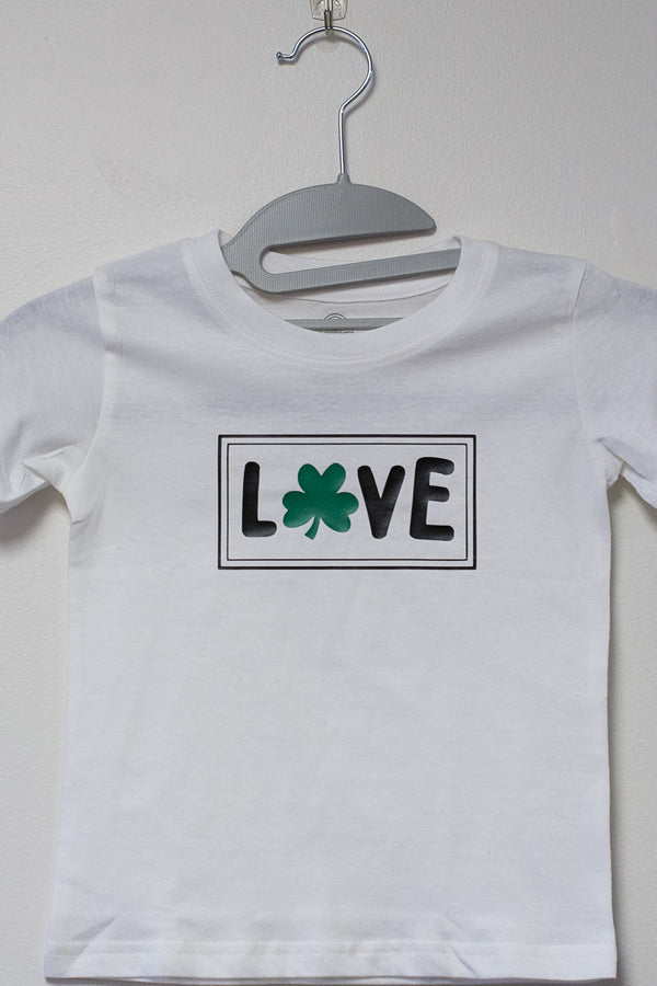 Love Shamrock Cut File
