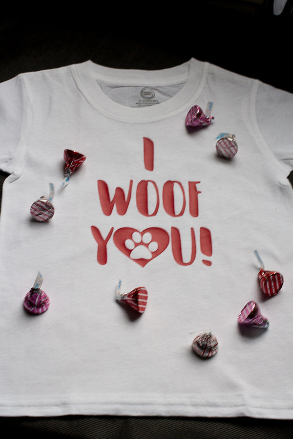 I Woof You Cutting File Wacky