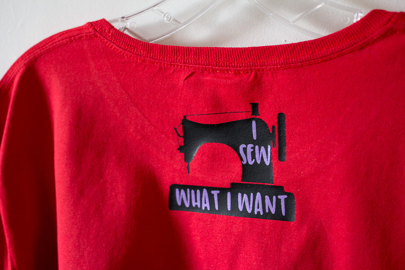 I Sew What I Want Cutting File