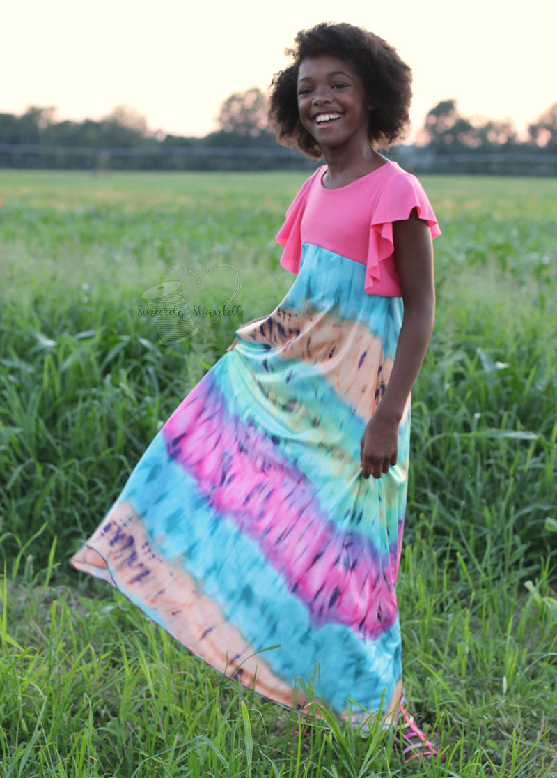 Kids Be Dreamy Dress Pattern Wacky