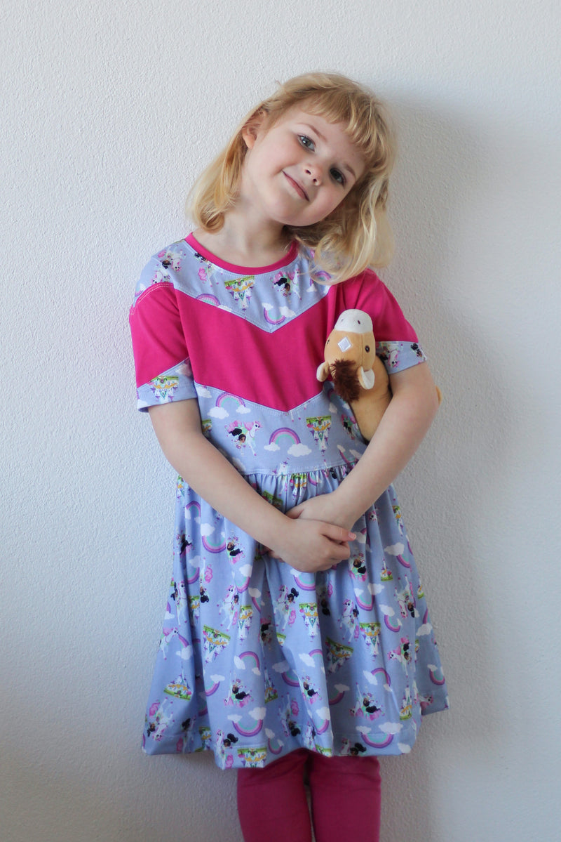 Kid's Book Club Top & Dress Pattern
