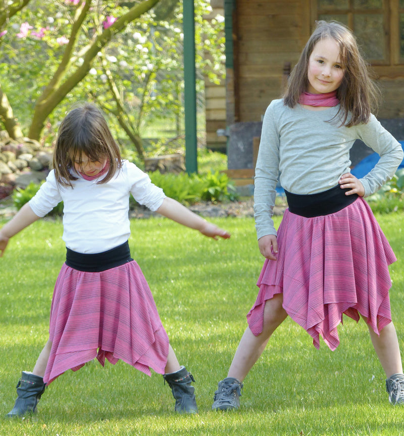 Kids Jersey Skirt Pattern